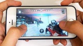 iPhone 5s Gaming Performance Test in 2018 | Modern Combat Versus Gameplay