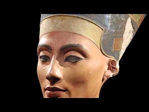Thutmose, Bust of Nefertiti, c. 1340 BCE