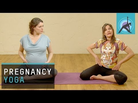 Pregnancy Yoga, Ease Hip Pain and Discomfort in Lower Back