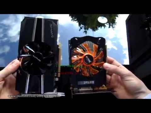 Zotac GeForce GTX 750 Ti - UNBOXING. Ultra Gameplay. Sapphire R7 260X Comparison