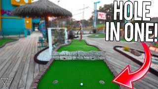 Getting Lots Of Mini Golf Hole In Ones Here!