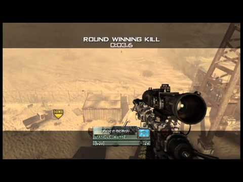 hey just hit my first trickshot