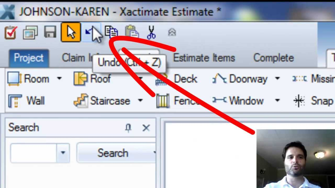 Learn xactimate from adam resizing room methods and for Xactimate 28 tutorial