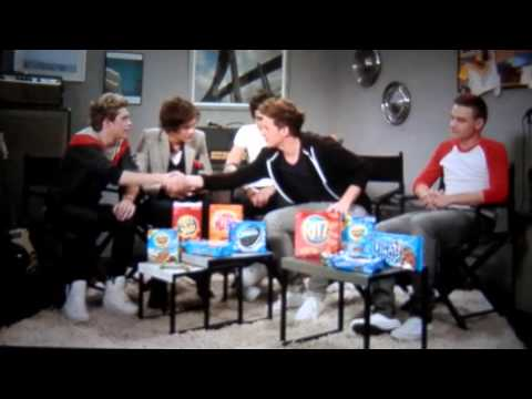 Embarassing Moments - One Direction Nabisco