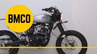 Born New Tracker 125 build 2 - Motorcycle Modification Process #05