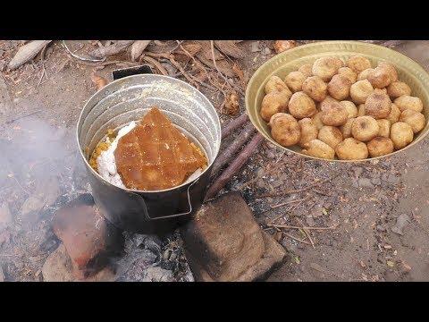 సాంప్రదాయ వంటలు పూర్ణం బూరెలు సులభపద్ధతిలో | Traditional South Indian Purnam Burelu || Purnam Burelu