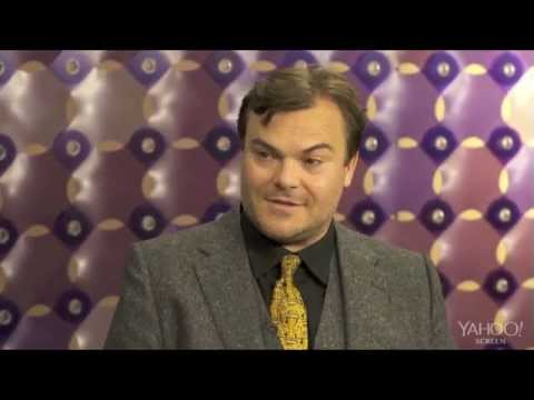 Jack Black Storm Trooper Caricature Reaction Yahoo! Interview