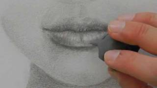 How to Draw a Realistic Mouth With Pencil.