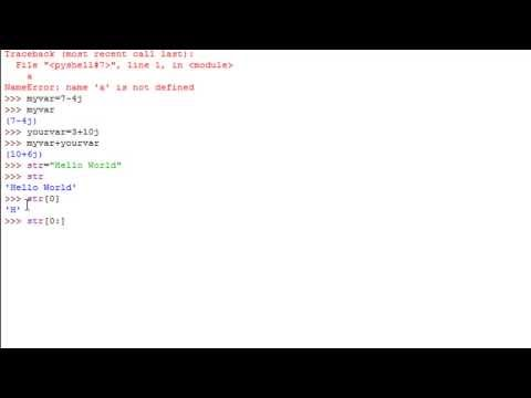 Python Programming Tutorial - 5: Numbers & Strings