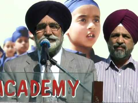 Annual Cum Sports Day 2013 - Akal Academy Baru Sahib (Speech Guest)