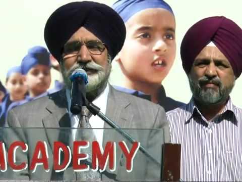 Annual Cum Sports Day 2013 - Akal Academy Baru Sahib (Speech Guest)