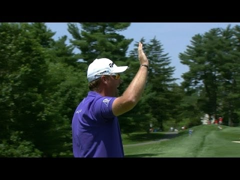 Peter Hanson's hole-in-one at Quicken Loans National