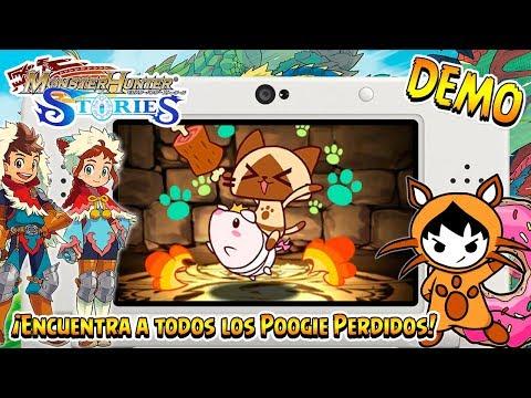 GUIA: ¡Todos los Poogie Perdidos de la DEMO! - Monster Hunter Stories ESPAÑOL | 3DS