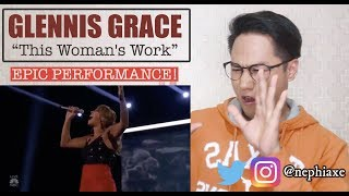Glennis Grace - This Woman's Work | AGT SEMIFINALS 2018 | REACTION