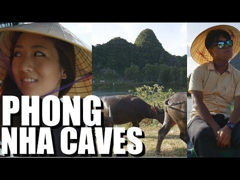 Daily VIETNAM travel vlog: PHONG NHA CAVES Experience! #11