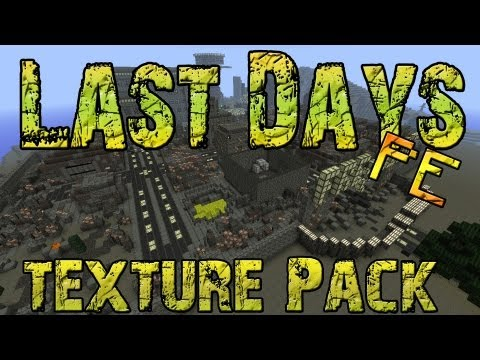 Last Days Texture Pack - Minecraft Pocket Edition