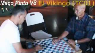 CHECKERS, TABLERO MACO PINTO VS VIKINGO EN VIVO