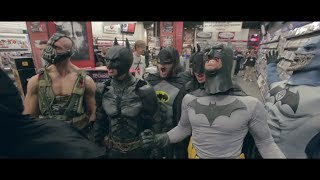 Angry Batmans Take Over GameStop!