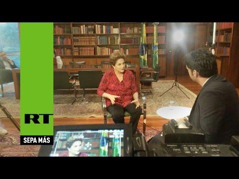 PRONTO: Dilma Rousseff concede a RT la primera entrevista televisiva tras su destitución