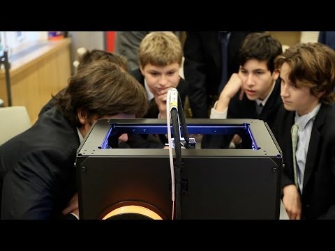 MakerBot Stories | The Browning School - 12/17/2013