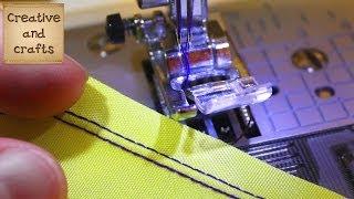 Как шить кожу иглой