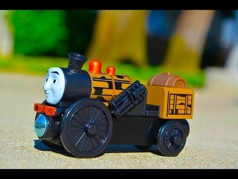 Thomas The Tank Engine Fix-Me-Up STEPHEN Wooden Railway Toy Train Review By Fisher Price