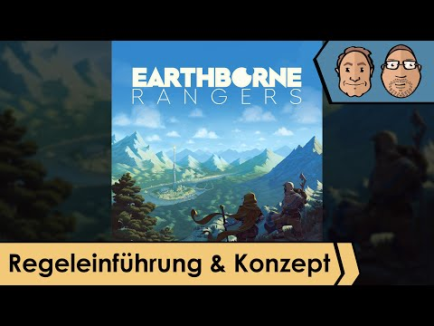 Earthborne Rangers – Brettspiel – Regeleinführung – Konzept mit Alex & Peat + Ben von Frosted Games