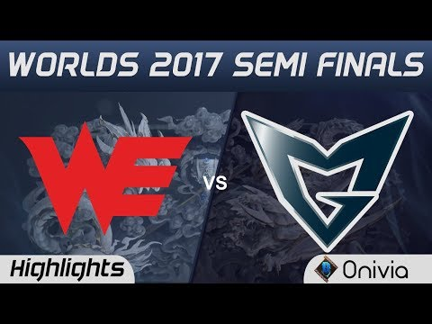 WE vs SSG Highlights Game 1 World Championship 2017 Semi Finals Team WE vs Samsung Galaxy by Onivia