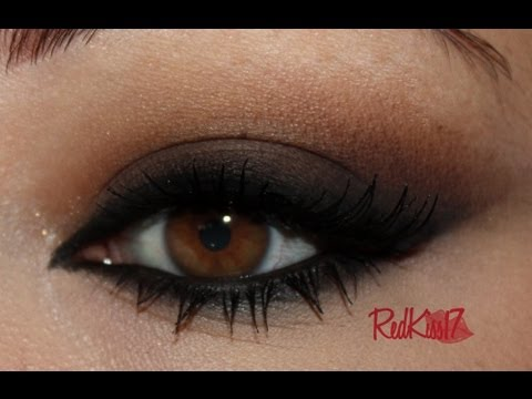 tutorial look ahumado felino