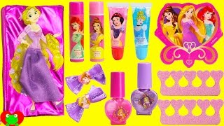 Disney Princess Lip Balms Nail Polishes and Shopkins Season 7 Surprises