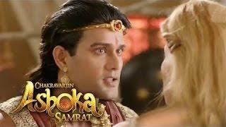 Chakravartin Ashoka Samrat : 28th July 2016 | A Unani lady gives offer to Ashoka to find Hallena