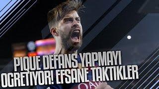 GERARD PIQUE DEFANS YAPMAYI ÖĞRETİYOR! EFSANE TAKTİKLER! ft. SUAREZ/TER STEGEN