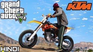OFFROADING with KTM sxf in GTA V | KrazY Gamer |