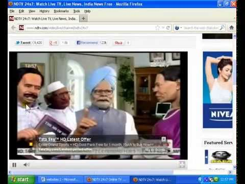 How to watch TV Channel on Internet in Hindi