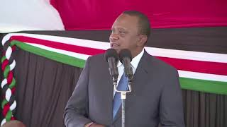 President Uhuru Kenyatta's remarks during a meeting with a delegation from Kuria, Migori County.