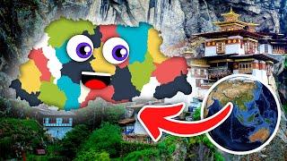Bhutan Geography/Bhutan Country Districts