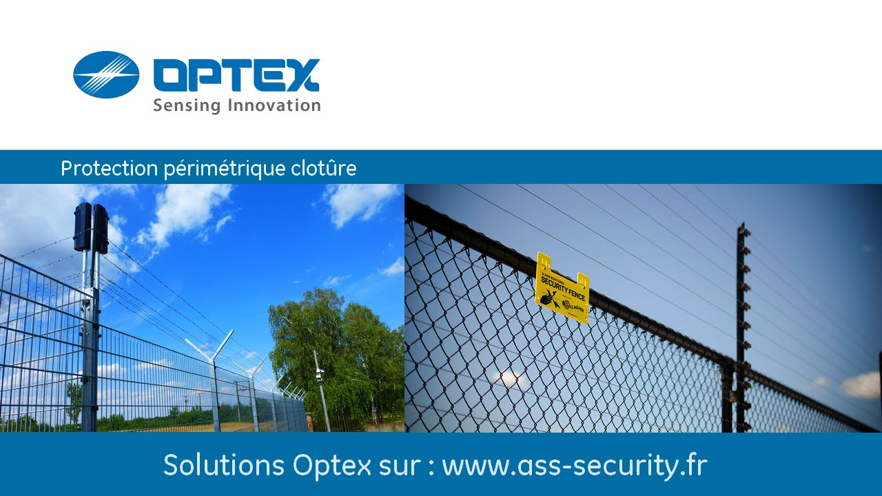 Protection cl ture barri res infrarouges alarme for Barriere infrarouge exterieur
