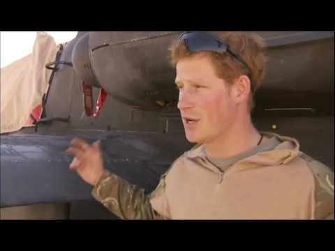 Prince Harry: candid interview from Afghanistan