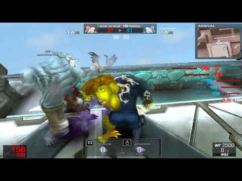 Gameplay 2012 Abril Wolf vs Wolf Marien Arnault SE 32-0