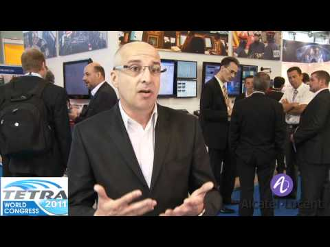 Thierry Sens, Marketing Director-EMEA, Alcatel Lucent interviewed at TETRA World Congress 2011