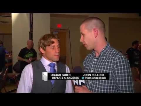 UFC 175 Urijah Faber Talks Alex Caceres Win Kazushi Sakuraba  More