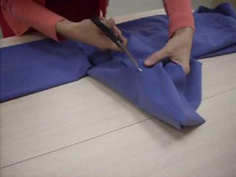 обработка низа брюк с манжетой