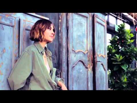 Superga photoshoot featuring Alexa Chung