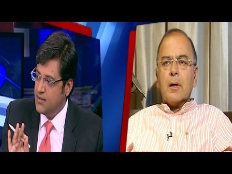 The Newshour Direct: Arun Jaitley (5th May 2014)