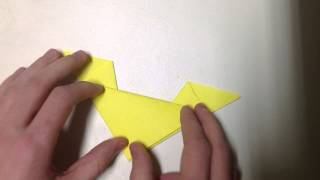 Faire Un Chat En Origami - Chat En Papier