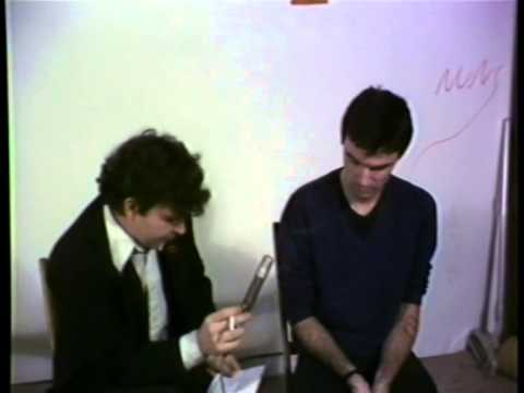 Talking Heads era David Byrne interview