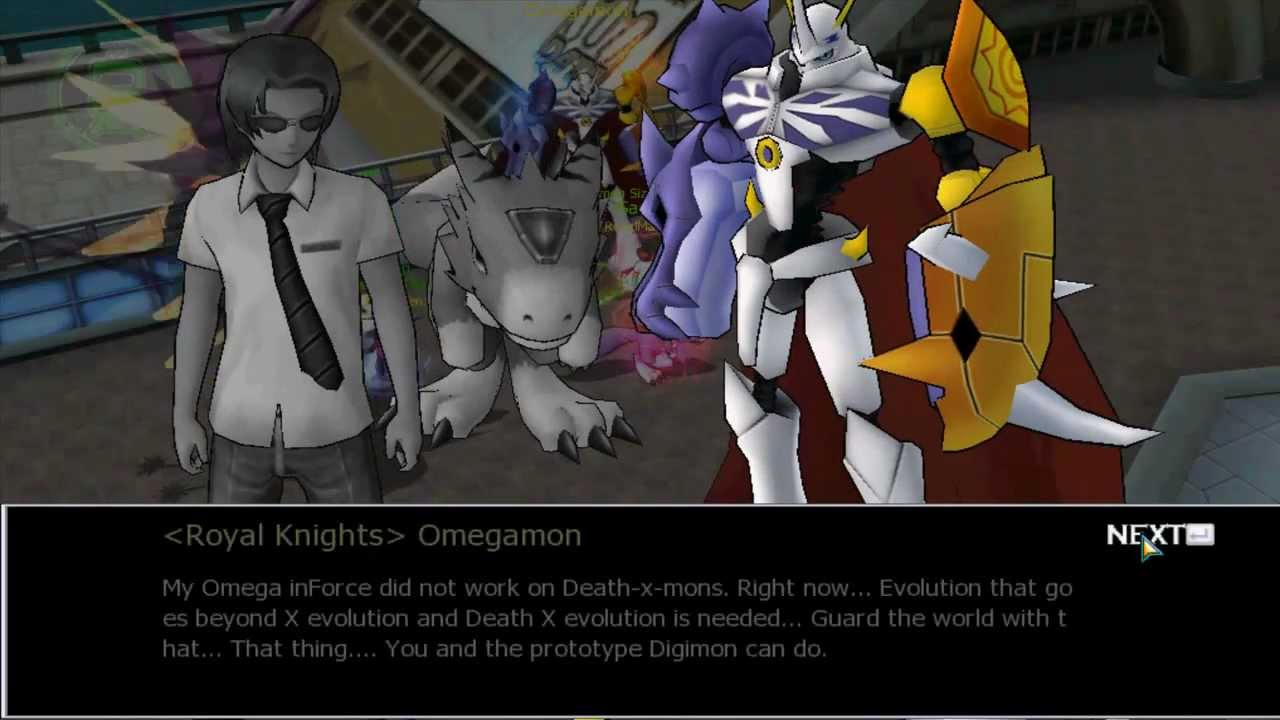 Digimon Masters Online : Alphamon Ouryuken - YouTube