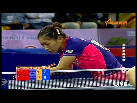 2015 Asian Cup Ws-SF1: LIU Shiwen - ZHU Yuling [Full Match/720p]