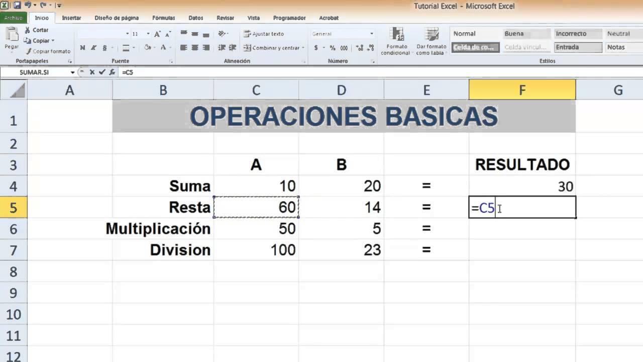 Excel - Nivel Básico - Tutorial #3