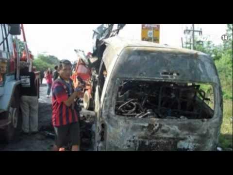 VTC14_Tai nạn thảm khốc, 13 người Việt tử nạn tại Thái Lan